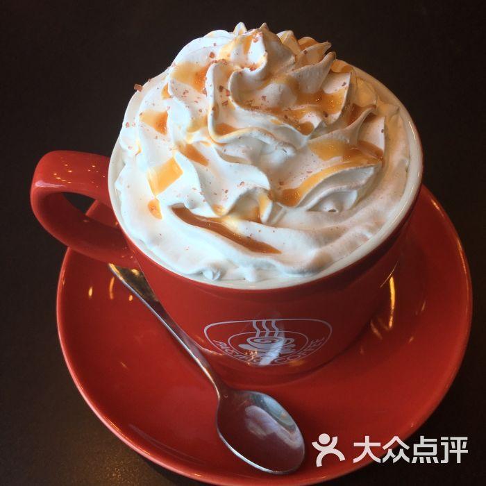 太平洋咖啡(三里屯店)-海盐焦糖拿铁图片-北京美食