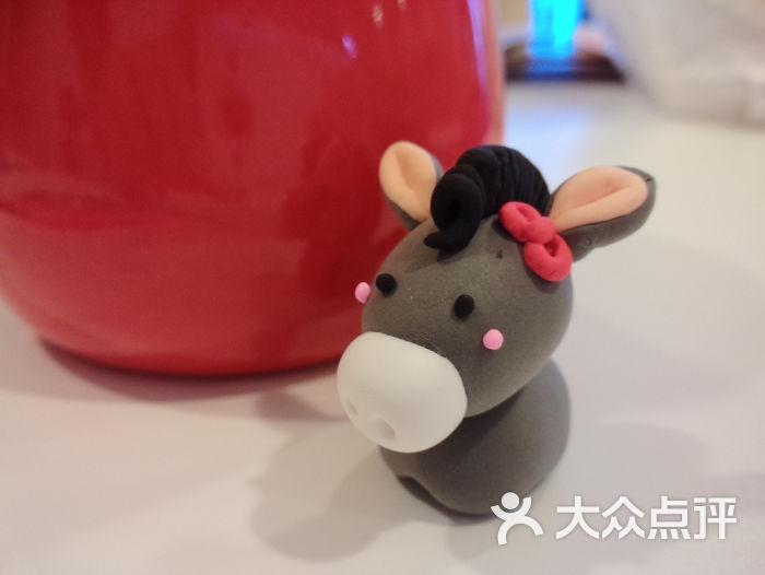 木梵diy手工软陶粘土屋-喜子作品~小毛驴-其他-喜子
