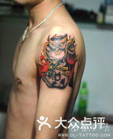 福州手臂纹身图片