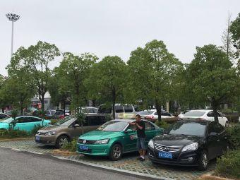 句容茅山风景区-游客中心停车场