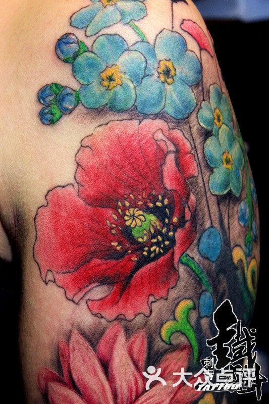街纹身光谷步行街纹身世界城洪山纹身店武汉铁木针刺青江汉路纹身作品