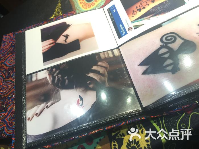 赋美·印度海娜手绘纹身(钟楼骡马市店)-图片-西安