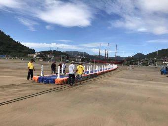 中国渔村·阳光海岸景区停车场