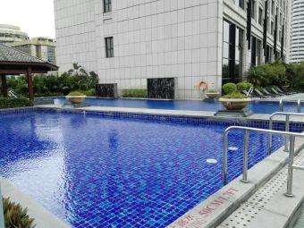 喜来登酒店游泳池