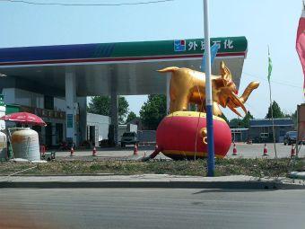 外资石化加油站