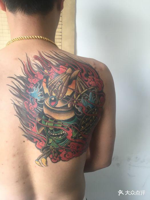 北京蚩尤刺青图片图片