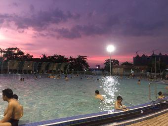 南油游泳场