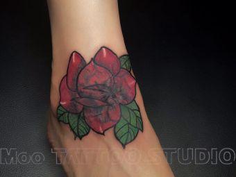 moo tattoo