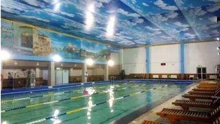 大连蓝堡酒店游泳池