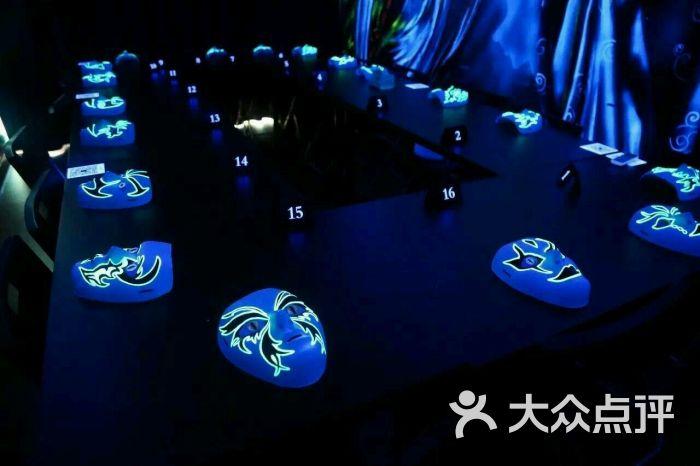 请别首刀我全手绘荧光主题狼人杀馆-图片-上海休闲