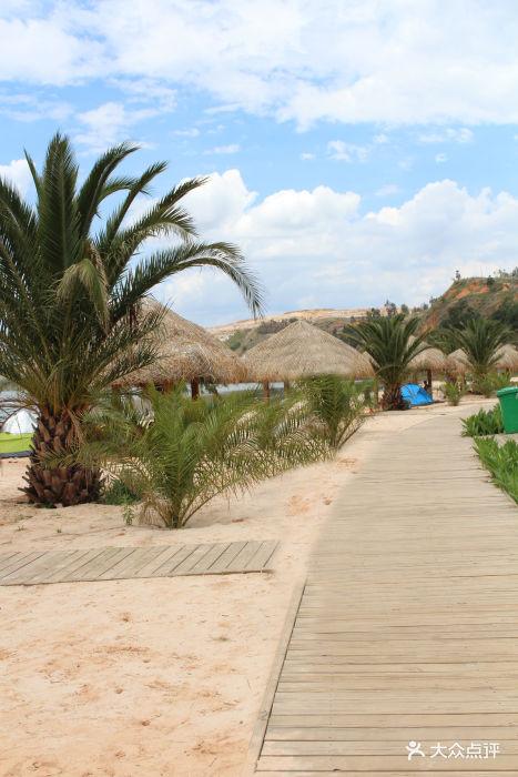 晋宁沙滩公园_昆明滇池南岸沙滩主题公园-图片-晋宁区周边游-大众