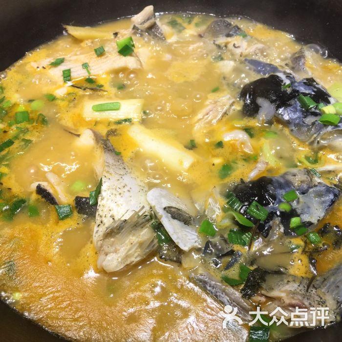 姜君·千岛湖柴火鱼图片-北京农家菜-大众点评网