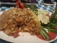 泰廊的蟹肉炒饭