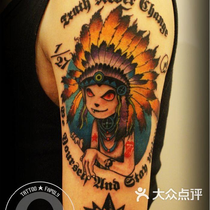 tattoo family刺青纹身工作室上海tattoofamly作品