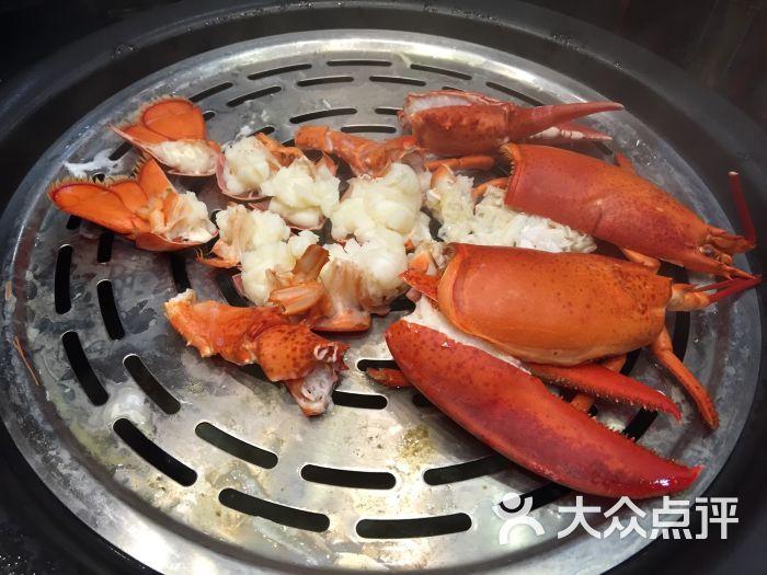 蒸品海鲜蒸汽火锅-波士顿龙虾图片-桐乡市美食-大众