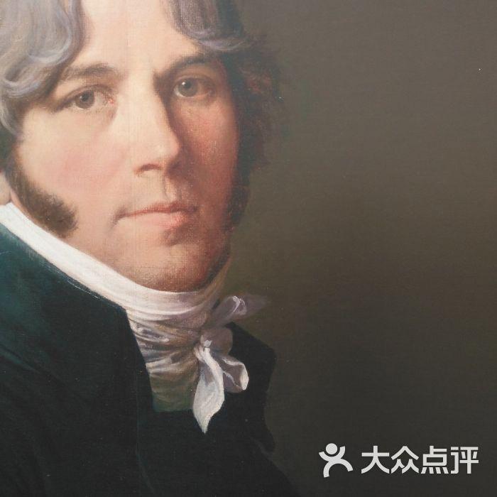 天津美术馆安格尔自画像图片-北京美术馆-大众点评网图片