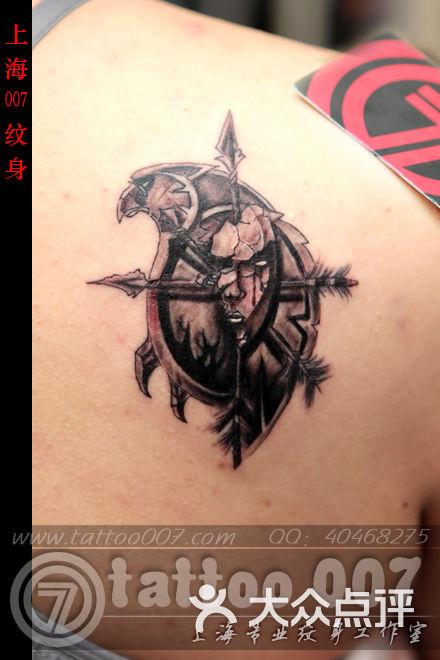 最突然想纹身 想纹一个魔兽世界里德鲁伊职业图标的爪子 最好萌一点的