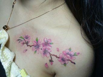 纹画人刺青