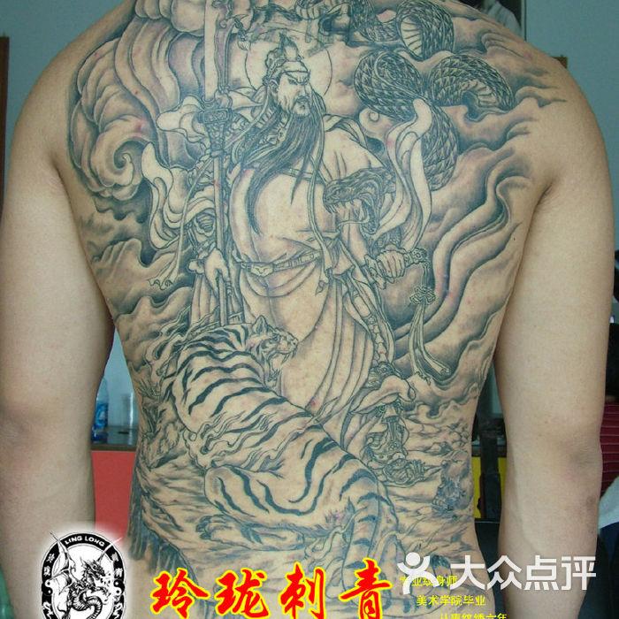 虎艺术纹身作品2