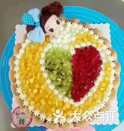 金满福烘焙坊泡泡公主蛋糕图片 - 第69张