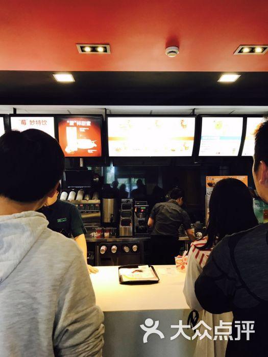 麦当劳(杭州南服务区)嘉兴美食街图片高清图片