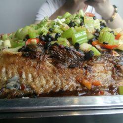 冰火名家烤全鱼的图片