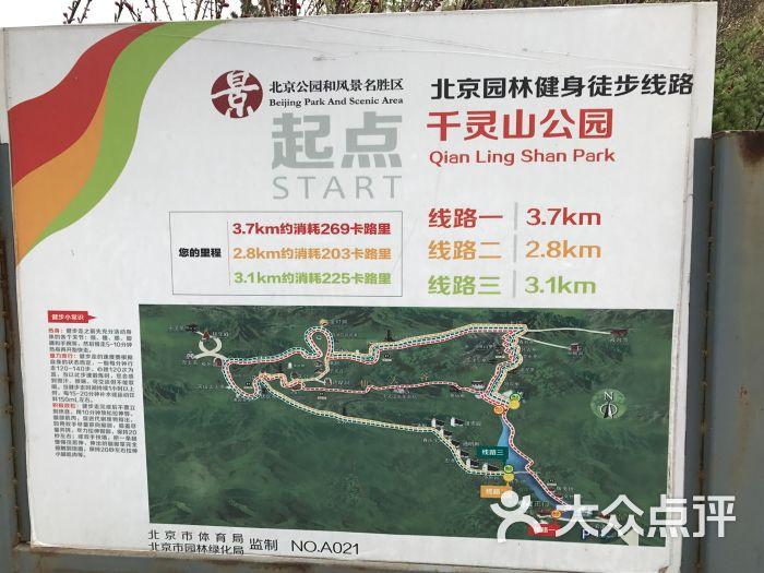 千灵山风景区-路线图图片-北京周边游-大众点评网