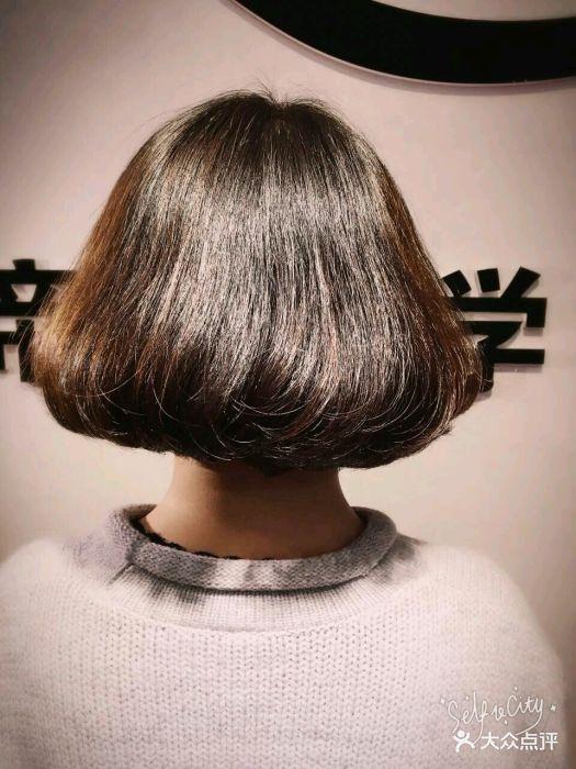 帝恩短发(和谐广场店)韩式辫子俏皮扎美学图片