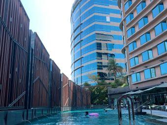 帝京酒店室外游泳池