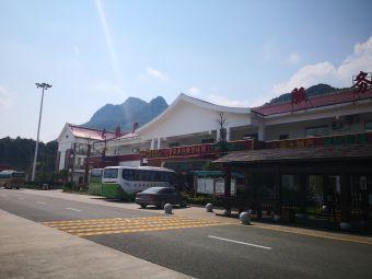 菜溪岩服务区-停车场