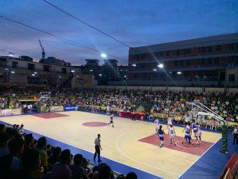 海口市灯光球场篮球场