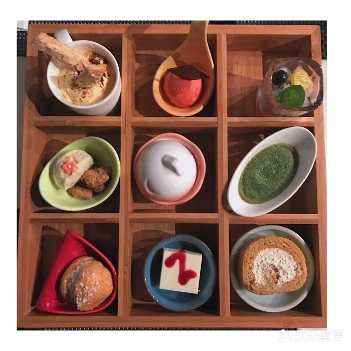 fount创意日料九宫格甜品图片 - 第82张图片