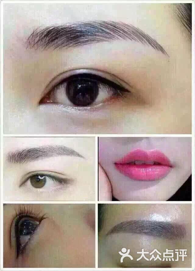 爱美国际妆容管理-韩式半永久眉眼唇图片-深圳丽人