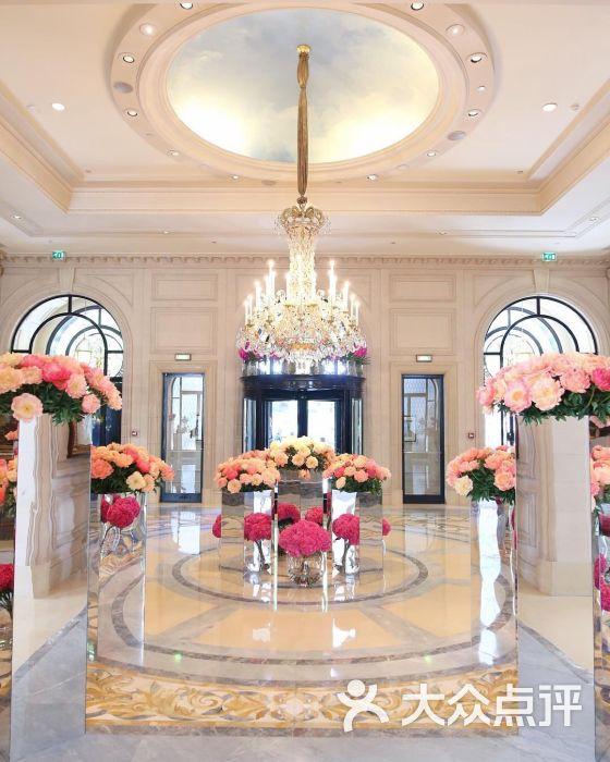 巴黎乔治五世四季酒店--大堂图片-点评实验室酒店