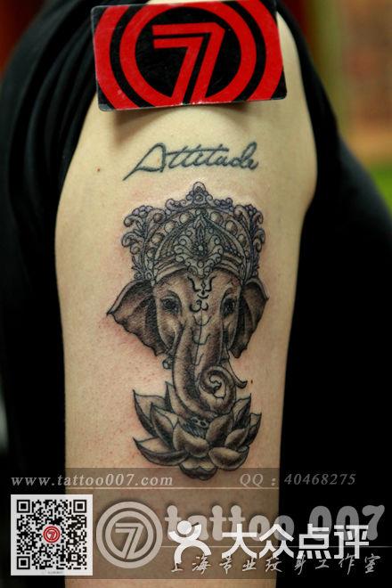 大象设计纹身