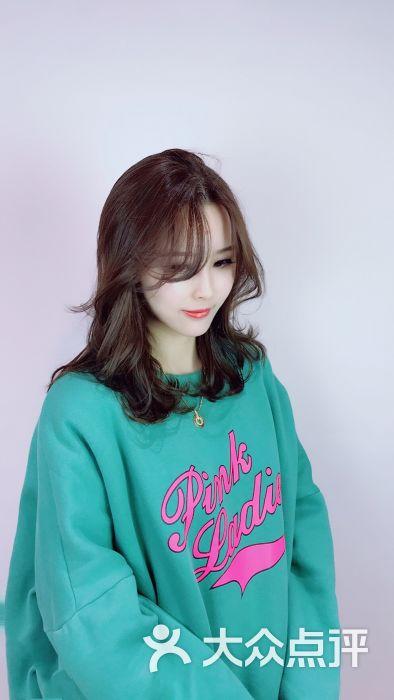 1cm老师定制:雨轩发型很不错啊.剪完烫发大.上2018女生韩版得到图片