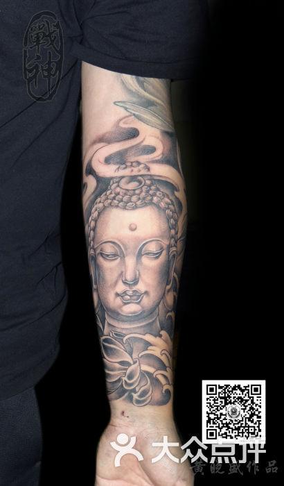佛 佛珠纹身 观音纹身 福州战神纹身