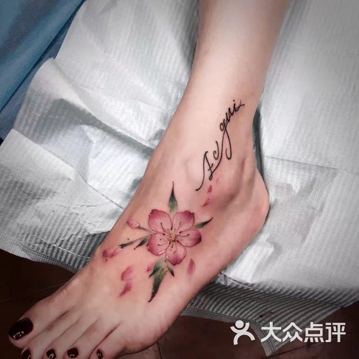 精雕纹身(嘉善分店)小樱花纹身图片 - 第55张图片