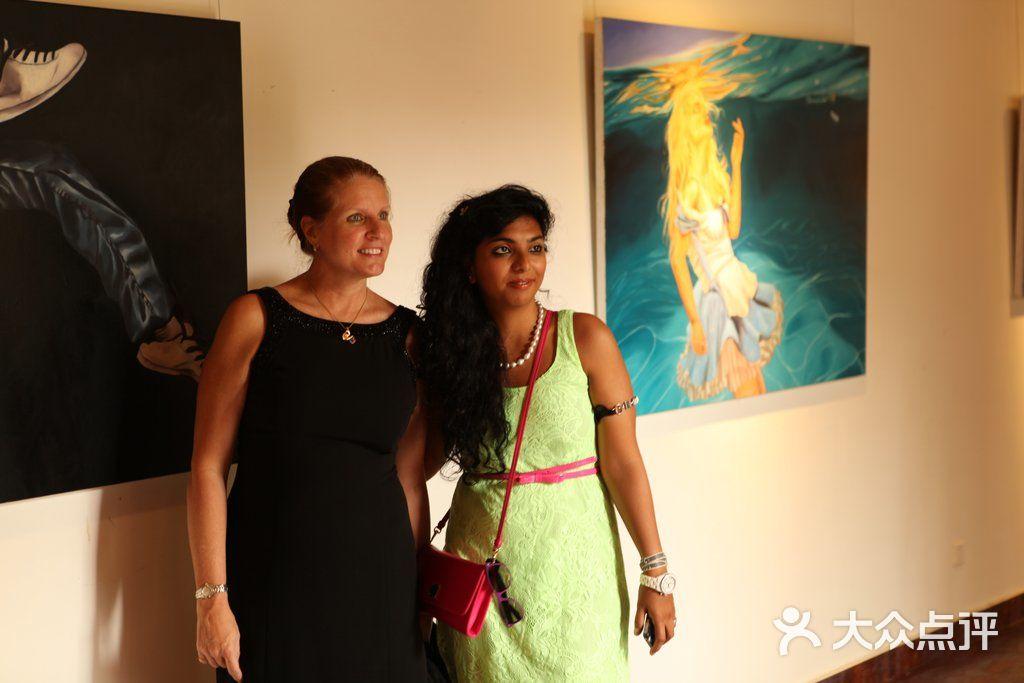 宋庄画家村画廊——印度艺术家的个展(1)图片