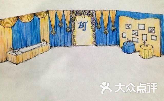 普罗米斯婚礼定制(陆家嘴店)-手绘图图片-上海-大众