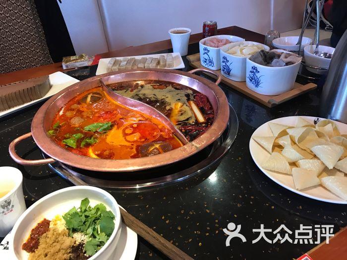 味蜀吾老火锅自助酱料图片 - 第1张
