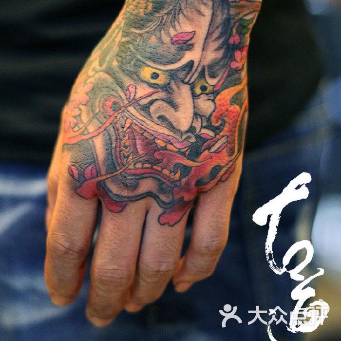 般若纹身图案 手部纹身图案 广州纹身                 广州纹身古道图片