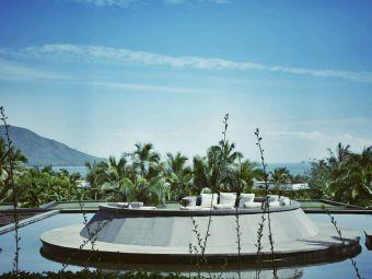 绿城蓝湾度假酒店室外游泳池