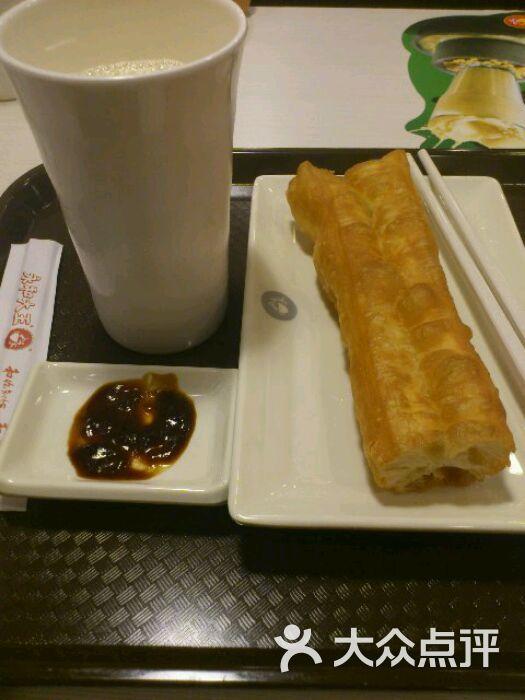 早餐-豆浆油条