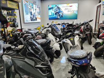 三阳机车精品展厅