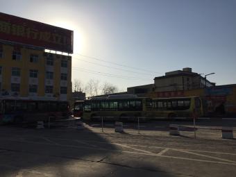 郭寨汽车站停车场