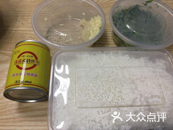 渣渣火锅饭:比较专做宝宝便当的店听说干净,.重干贝肥肠粥蘑菇图片