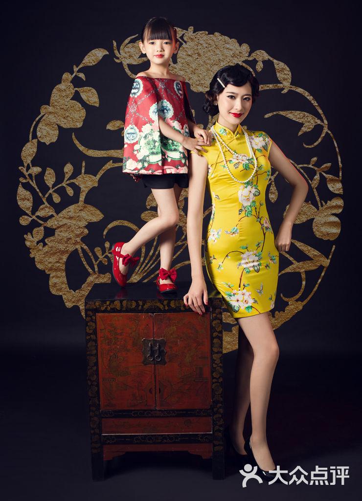 儿童摄影旗袍发型分享展示