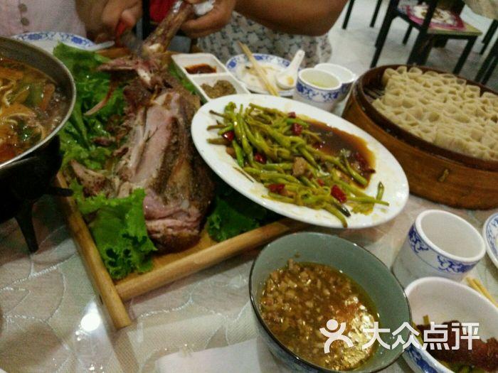 塞外莜面村-图片-张北县美食美食节苏州国际图片