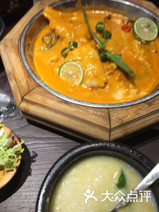 边境东南亚小吃(美罗城店)-星岛咖喱鱼片图片-上海